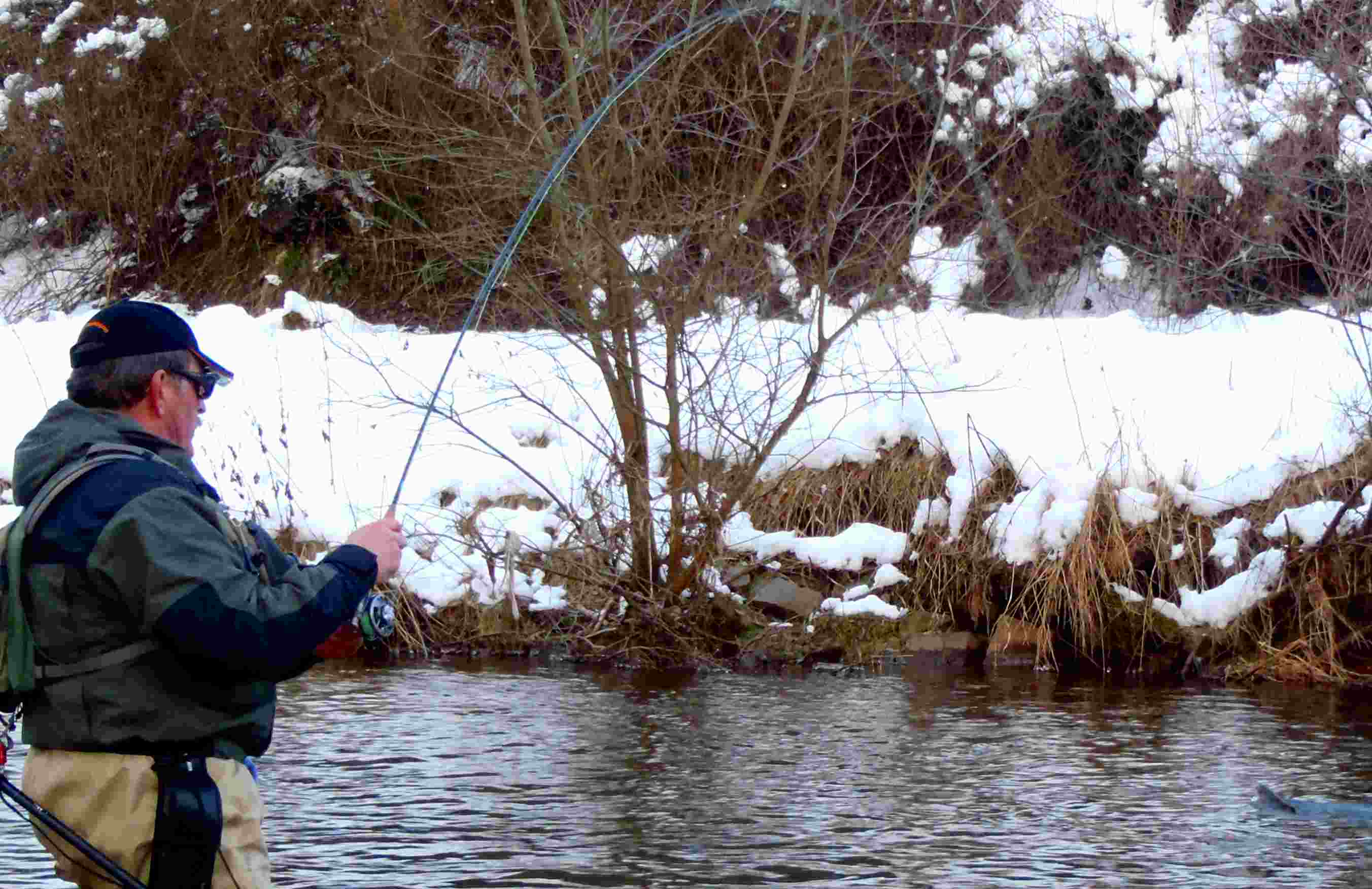 Fly Fishing for Grayling in winter